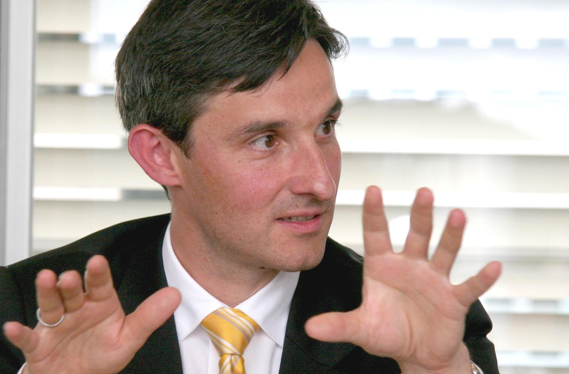 IHK-Präsident Steffen Auer