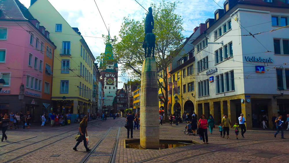 Die Innenstadt wird analysiert. Foto: Daniela Frahm