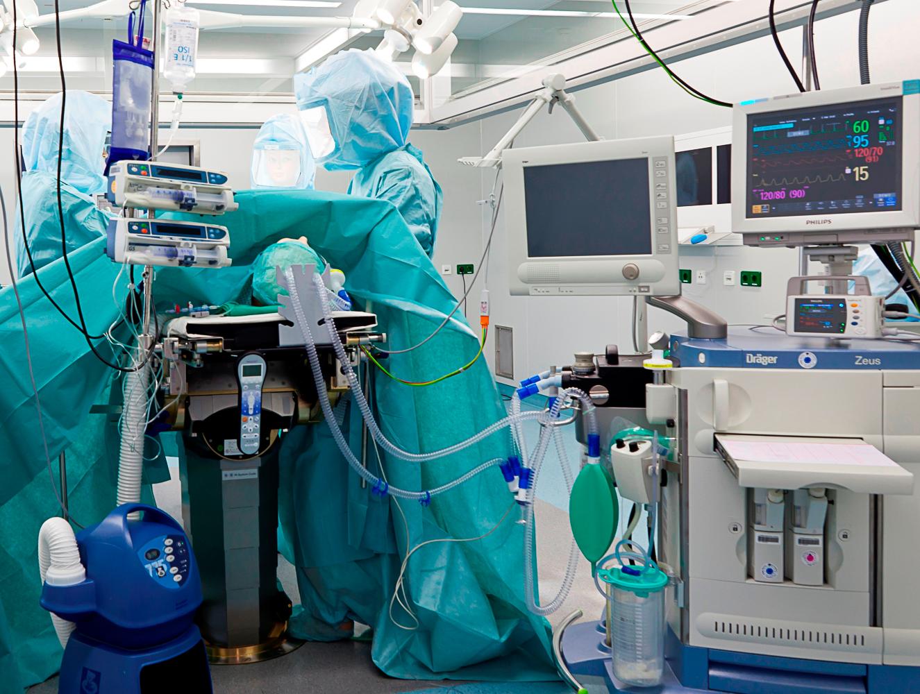Reinraum-Operationssäle im  RKK Klinikum (© RKK Klinikum)-1