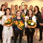 Abschlussfeier für 76 erfolgreiche Betriebswirte