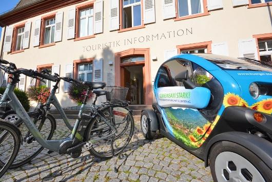 ebike und ecar - Stadt Müllheim