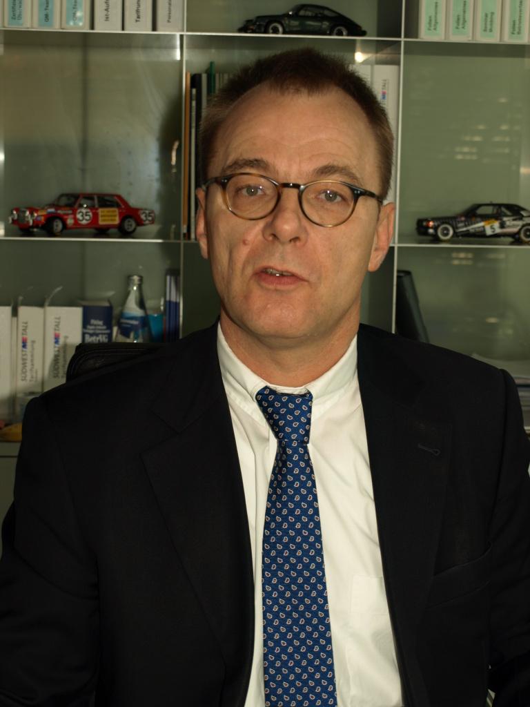 Stephan Wilcken, Geschäftsführer Südwestmetall Bezirksgruppe Freiburg