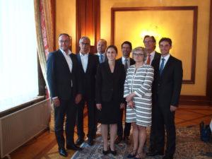 Bild 028: (v.l.) Faller, Ganter, Moser, Auer, Schrempp