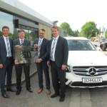 50 Jahre Servicevertrag mit Mercedes-Benz bei Schmolck