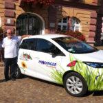 Stadt Herbolzheim und die Firma Prodinger machen elektrisch mobil