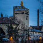 Weihnachtstradition: Weißtanne auf dem Brauereiturm