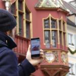 Stadtführung mit Smartphone