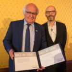 "Martin Herrenknecht in der ""Hall of Fame"""