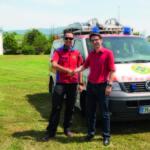 Hummel AG spendet an Bergwacht von Waldkirch