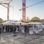 Bauverein Breisgau feiert Richtfest im Uni Carré