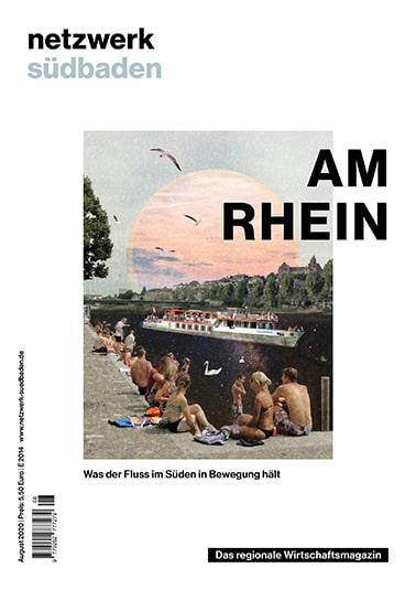 Am Rhein - netzwerk südbaden Ausgabe August