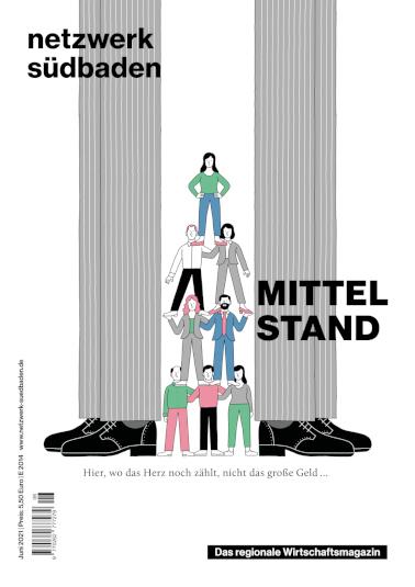 netzwerk südbaden Cover Ausgabe 06/2021