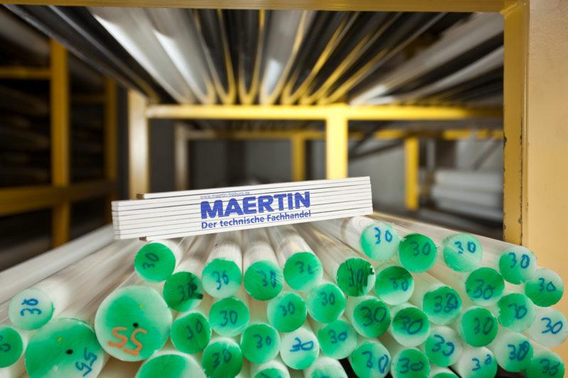 Maertin ist Spezialist für Kunststoffe