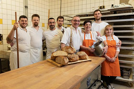 Brot der Bäckerei Paul in Lörrach