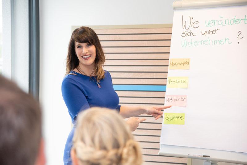 Melanie Missbach, Unternehmerinn aus dem VdU Baden