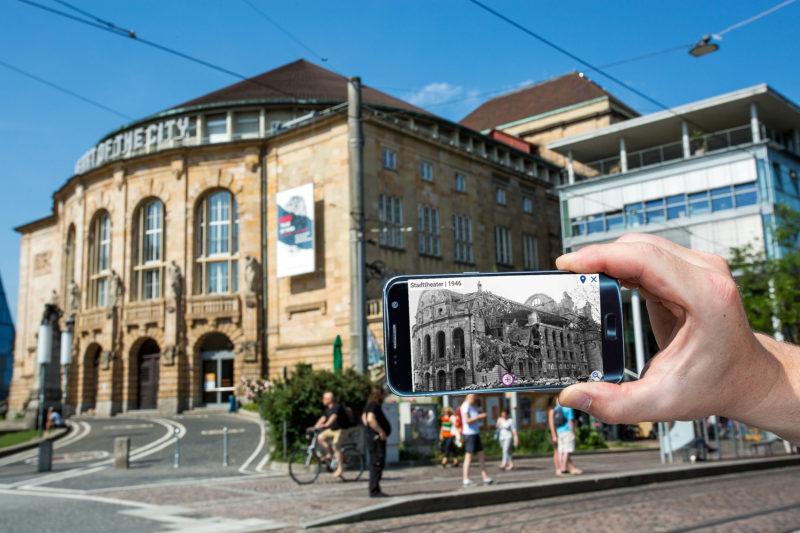 Future History: Per App in das historische Stadtbild reisen