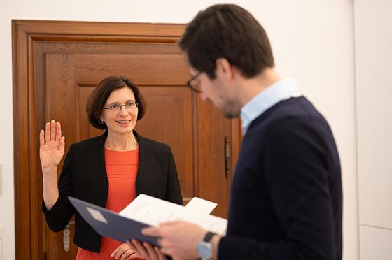 Grüne Umweltbürgermeisterin Freiburg