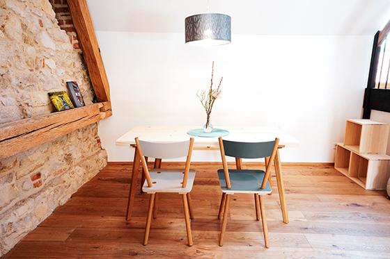 Designmöbel aus Käferholz