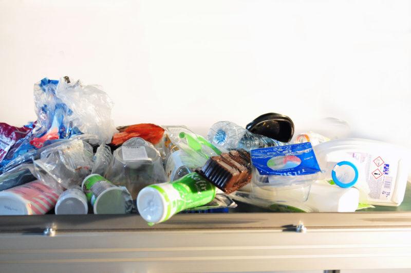 Polysecure recycelt Plastik
