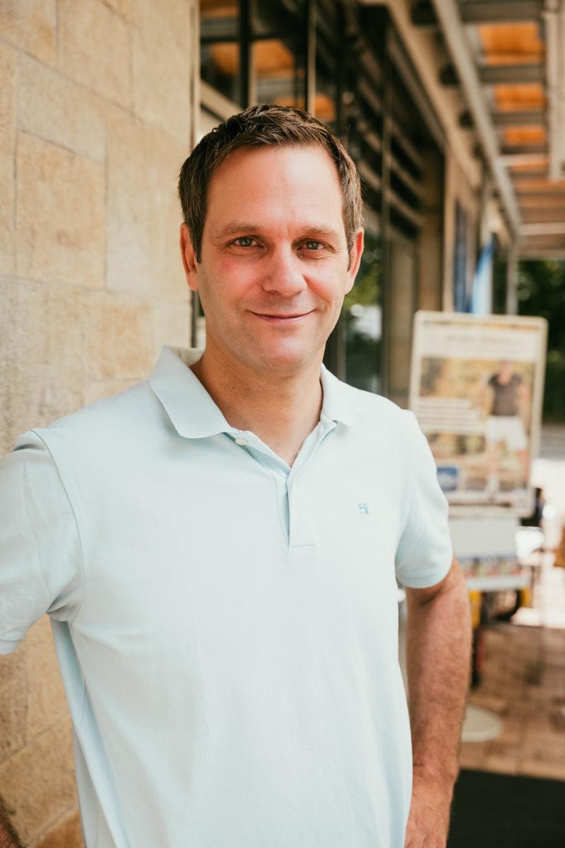 Unternehmer Tim Kiefer von Sport Kiefer