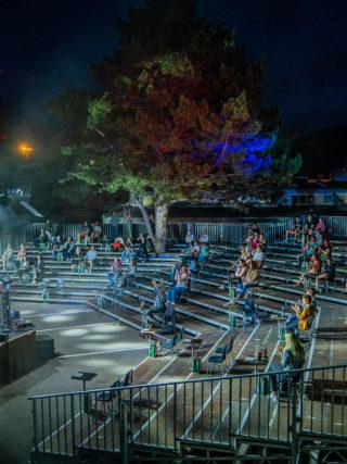 Open-Air-Bühne vom Veranstaltungstechniker Tecstage in Freiburg