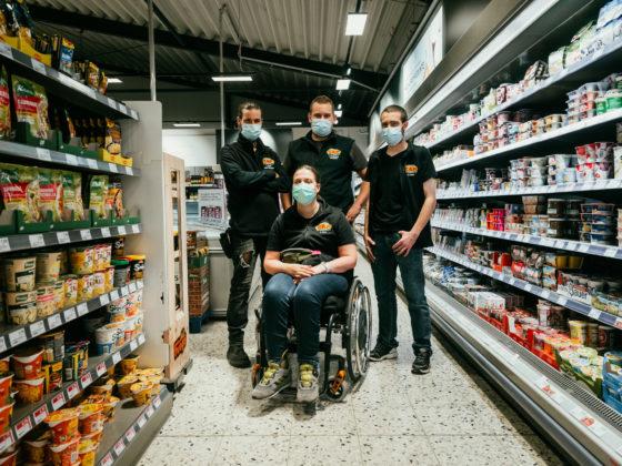 Team vom CAP-Markt Pfaffenweiler