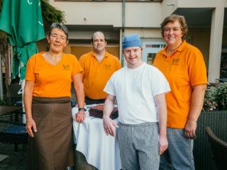 Team Café Mitnander Inklusionscafé in Eichstetten