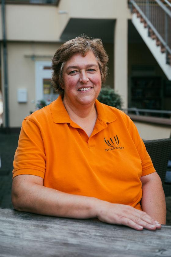 Ina Wagner, Geschäftsführerin Café Mitnander