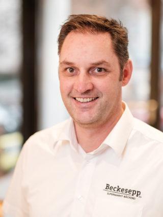 Johannes Ruf, Bäcker und Chef vonBeckesepp